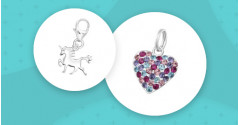 Silber Charms